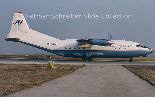 2011-03 UR-CGU Antonov 12BK (c/n 7345203) Aerovis