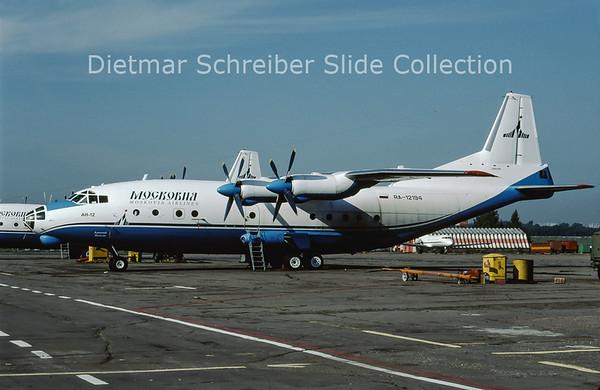 2009-07 RA-12194 Antonov 12 Moskovia