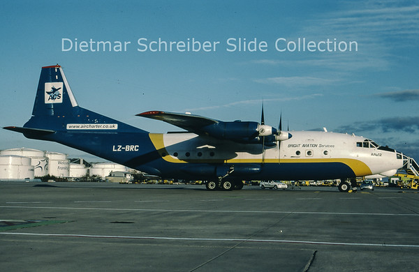 LZ-BRC Antonov 12BP (c/n 8345510) Bright Aviation Services