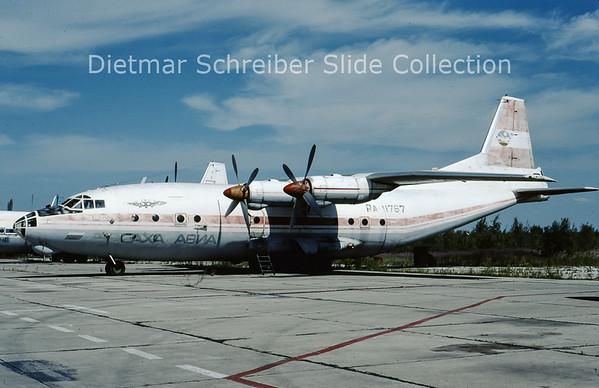 2009-07 RA-11767 Antonov 12BP (c/n 401909) Sakha Airlines