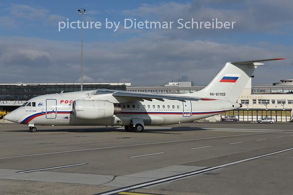 2015-01-28 RA-61703 Antonov 148 Rossiya