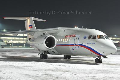 2012-02-07 RA-61705 Antonov 148 Rossija