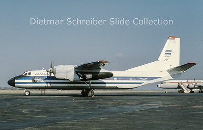 YN-BYX Antonov 26 (c/n 12405) Aeronica