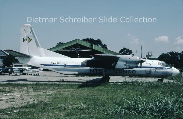 2003-11 TN-AGU Antonov 26B (c/n 5210) Inter Air Congo