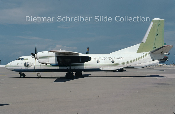 2009-10 5A-DOE Antonov 26B (c/n 13003) Libyan Air Cargo