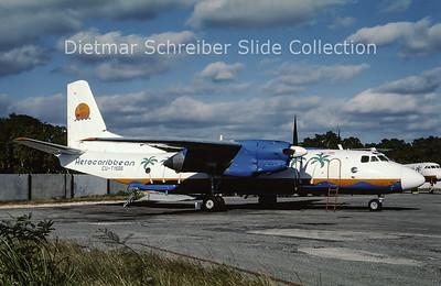 CU-T1506 Antonov 26 (c/n 6710) Aerocaribbean