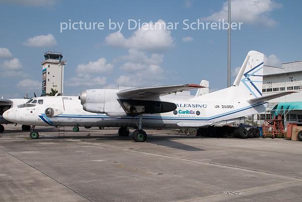 2009-04-03 UK-26001 Antonov 26 Avialeasing