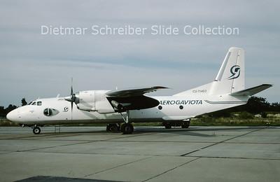 CU-T1403 Antonov 26B (c/n 12905) Aerogaviota