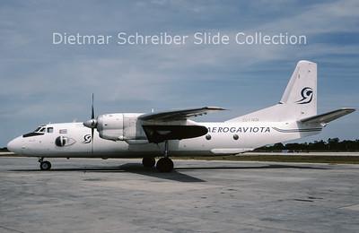 1996-05 CU-T1426 Antonov 26 (c/n 5603) Aerogaviota