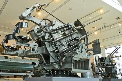 2 cm Flakvierling C/38 in Vierlingslafette C/38/43U
