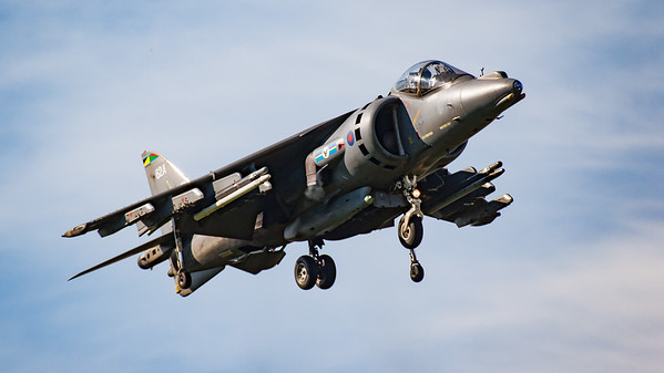 BAe, British Aerospace, Harrier, Harrier GR.7, RAF, Royal Air Force, Shoreham, Shoreham 2005, ZG472, aircraft, airshow