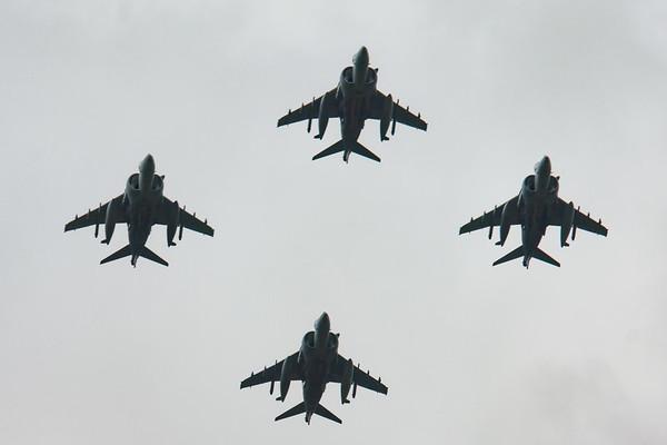 2008, BAe, British Aerospace, Harrier, Harrier GR.7, RAF 90 Flypast, RIAT 2008 - 11/07/2008@14:39