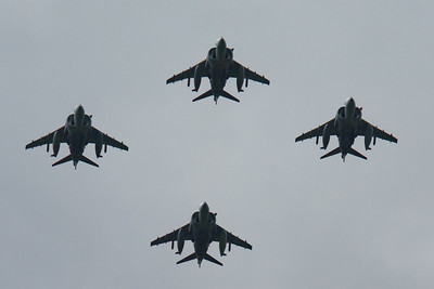 2008, BAe, British Aerospace, Harrier, Harrier GR.7, RAF 90 Flypast, RIAT 2008 - 11/07/2008@14:39
