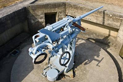 3,7 cm SK C/30 kanone in Ubootslafette C/39