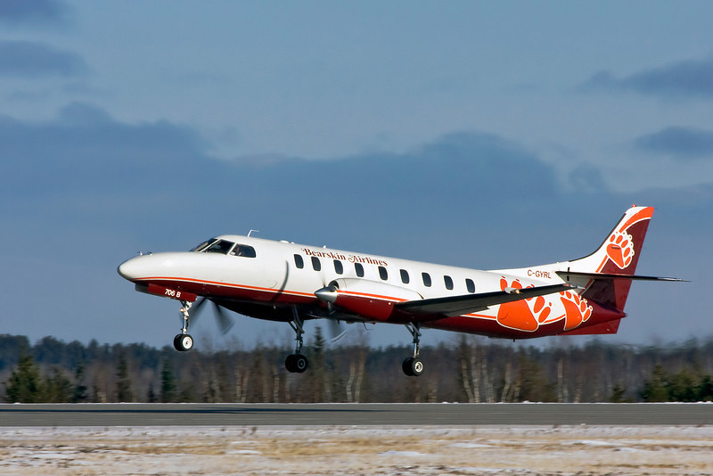 I believe this is flt JV 362 just after take off on November 21st, 2008 at the Dryden Airport.
