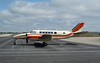 Bearskin Airlines Beech 99 C-GPEM, sitting on the ramp at the Dryden Regional Airport