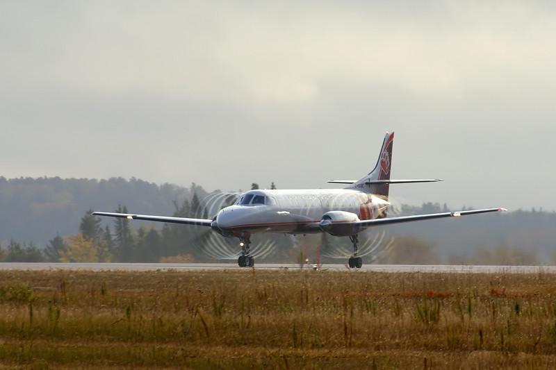 Bearskin Flight JV307 leaves Dryden for Kenora.