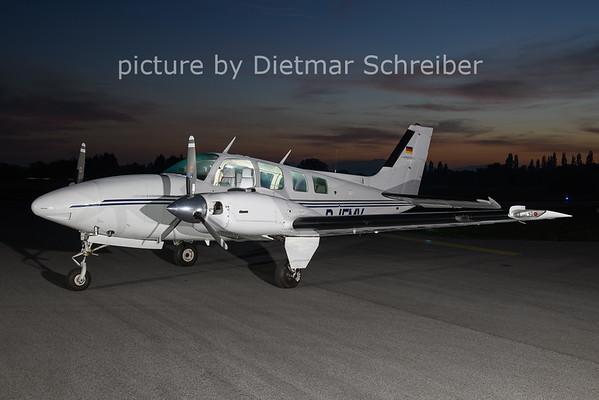 2020-10-21 D-IFMV Beech 58 Baron