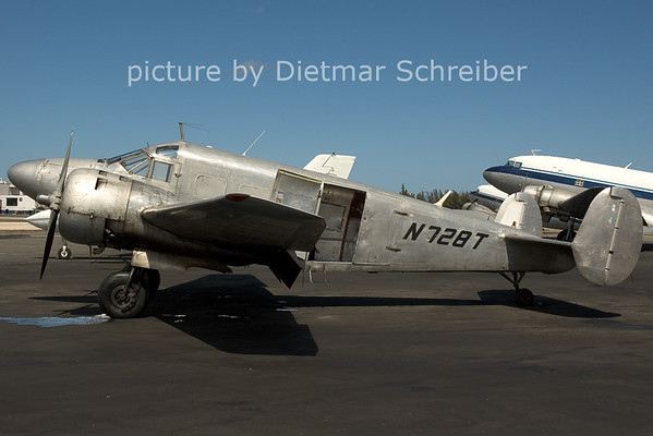 2006-02-26 N728T Beech 18 Tolair