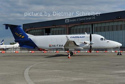2012-06-01 HA-FAM Beech 1900D Farnair Europe