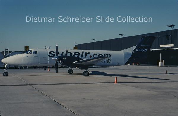 2010-12 N253SF Beech 1900C-1 (c/n UC-53) Subair