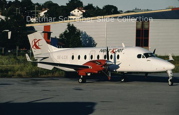 2009-07 SE-LCX Beech 1900D (c/n UE-275 ) Nextjet