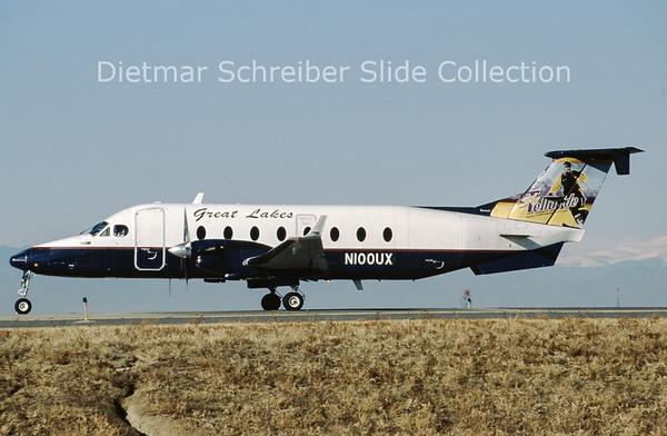 2011-11 N100UX Beech 1900D (c/n UE-100 ) Great Lakes