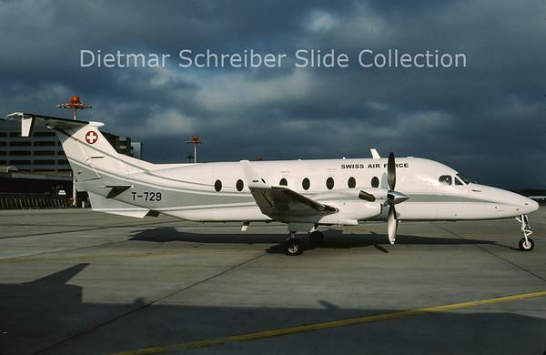 2009-05 T-729 Beech 1900D (c/n UE-288 ) Swiss Air Force