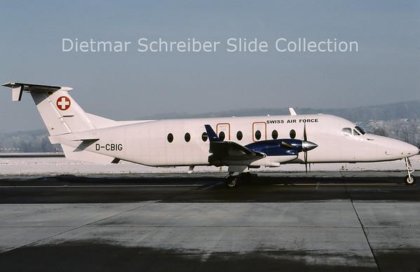 2009-01 D-CBIG Beech 1900D (c/n UE-288 ) Swiss Air Force
