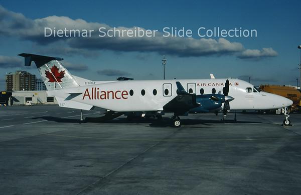 2009-01 C-GORA Beech 1900D (c/n UE-326) Air Alliance