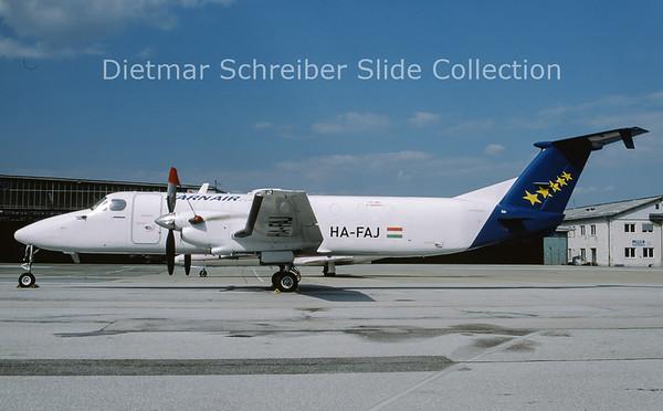 2010-04 HA-FAJ Beech 1900C-1 (c/n UC-79) Farnair Europe