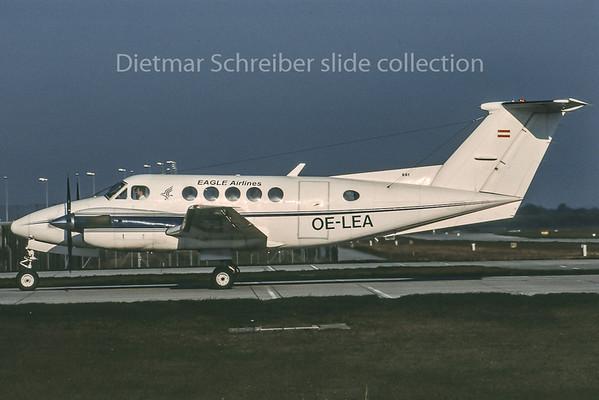 OE-LEA Beech 200 King Air Eagle Airways