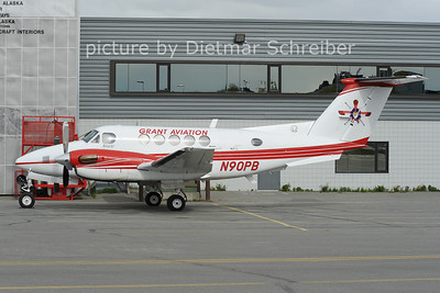 2012-05-19 N90PB Beech 200 KIng Air Grant Aviation