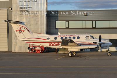 2012-05-14 N315HS Beech 200 King Air Grant Aviation