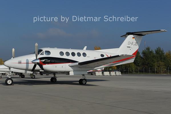 2012-10-22 D-IICE Beech 200 King Air