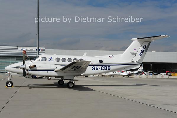 2014-04-22 S5-CBB Beech 200 KIng Air