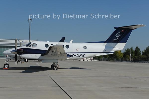 2012-10-03 HB-GPS Beech 200 KIng AIr