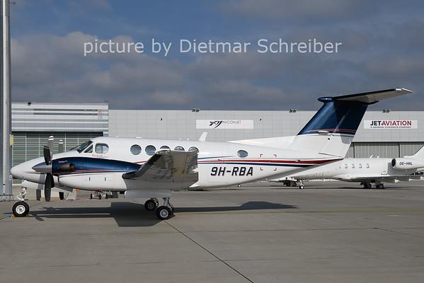2020-10-21 9H-RBA Beech 200 King AIr