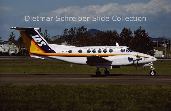 1994-10 JA8879 Beech B200 King Air (c/n BB-1401) Japan Air System