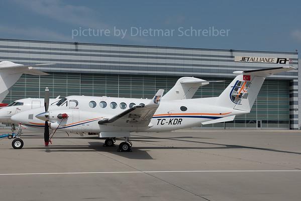 2016-05-25 TC-KDR Beech 350 King AIr