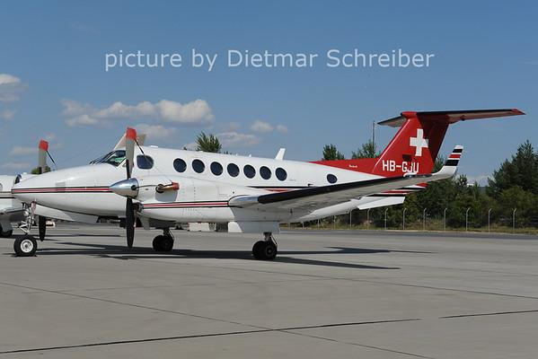 2012-08-29 HB-GJU Beech 300 King AIr