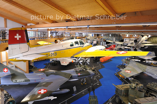 2011-06-11 A-713 Beech 50 Twin Bonanza Swiss Air Force