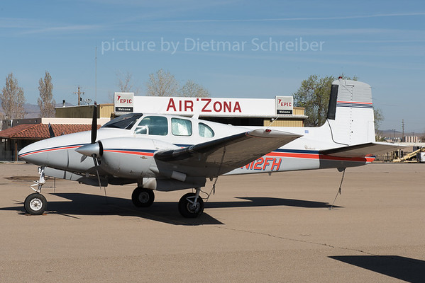 2016-03-04 N12FH Beech 50 Twin Bonanza