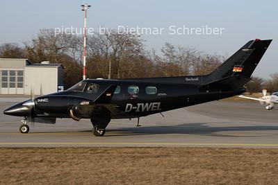 2021-02-26 D-IWEL Beech 60 Duke
