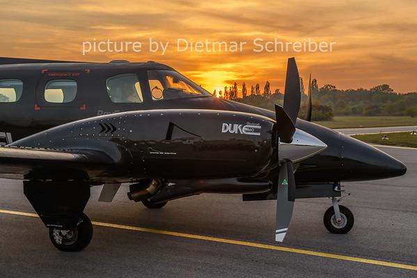 2020-10-21 D-IWEL Beech Duke