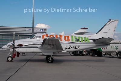 2007-10-19 LZ-ADK Beech 90 King AIr