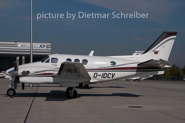 2008-10-20 D-IDCV Beech 90 King Air