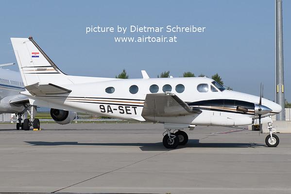 2021-08-20 9A-SET Beech 90 King Air