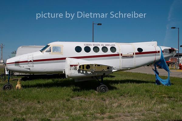 2009-06-02 C-FIDN Beech 90 King Air
