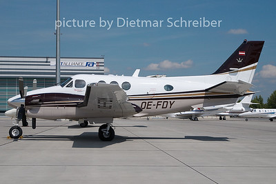 2010-08-12 OE-FDY Beech 90 King Air